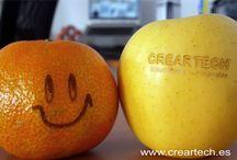 Frutas / Grabado láser sobre frutas