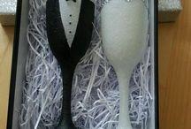 Bryllup-glas