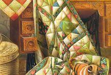 лоскутное одеяло арт