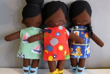 African doll ideas