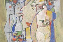 Painting. Bela Kadar