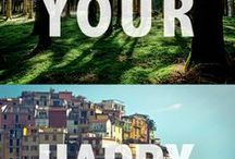 ! Frases de viagem / Minhas frases favoritas de viagem