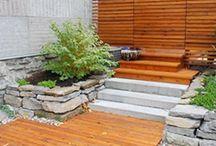 walkway backyard