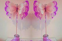 Party fairy butterflies