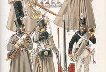 Russian napoleonic uniforms