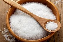 limpeza com sal