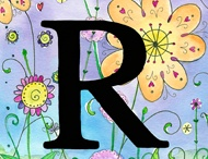 "The Letter ""R"" / by Rose Mary Ayers"