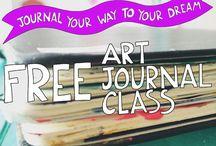 art journal classes  free