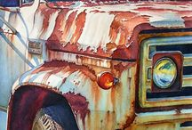 Vehicles paintings