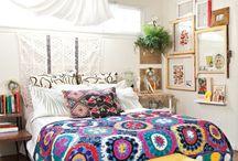 Boho/eclectic room