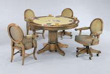 Game Tables & Chairs / Upgrade your game room or den with one of these stylish sets!
