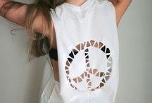 D.I.Y shirts / Turn your old shirts into something uniqe, the limit is up to your imagination! ;)  Változtasd át régi pólóidat valami egyedivé, határt csak a képzeleted szabhat! ;)