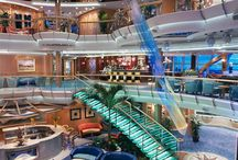 Our cruise ship! ⚓⚓⚓⚓ / Where we went on our cruise