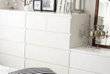 IKEA interiors ideas / Interior ideas with Ikea furniture and accessories.