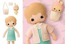 Dolls - clothing patterns