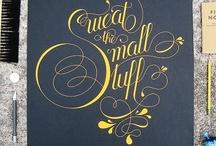 Tattoo typography / by Rhiannon Jacek (Prince)