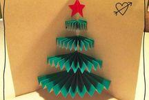 skádací vánoční přání