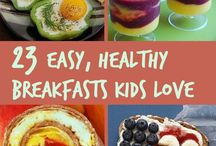 Healthy Breakfast Ideas for Picky Kids / Breakfast foods that are healthy and will be enjoyed by even the pickiest of kids. / by White House Nannies