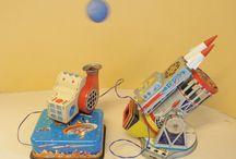 HORIKAWA SH CARS & SPACE TOYS / Horikawa Toys - SH Trademark in a Diamond - Gangu Kogyo - Tokyo - Japan