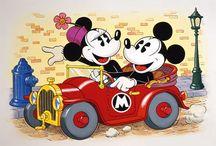 Classic Mickey and Minnie / by Lorenza Vega Jones