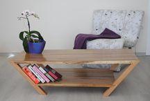 DECOMATT / Özel tasarım, sadece ağaçtan imal edilmiş dekoratif mobilya ve aydınlatma ürünlerini içerir.