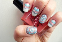I LOVE THESE NAILS! / Some nail design inspirations for the next manicure session! / by Hana chiaki