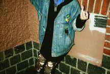 Fashion throwback 80s-90s goth/punk/grunge / by Abbey Salome
