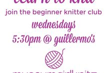 Learn to Knit with MUSEUMGIRLKNITZ