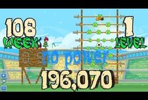 Week 108 all levels no power / Watch the video youtube Angry Birds Friends Tournament week 108 all levels