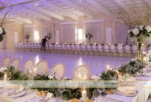 Lovely tablescapes and Imperial tables