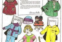 Paperdolls6 Семья / Семьи - бумажные куклы с одеждой.