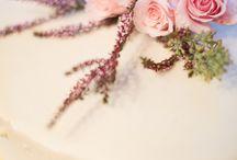 svadobná torta a zákusky