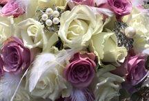 Blomster / Dekorasjoner ++ som jeg har laget.
