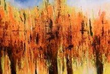 Abstract Paintings / Come here to look at our various abstract paintings done by our 1000+ Indian Artists from our network.. browse and appreciate and buy at very affordable prices. They are genuine and authentic Indian handmade art. When you buy an art from us, we make an upcoming artist delight with joy.