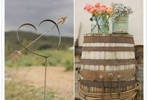 Rustic Wedding Ideas / by Janelle Zalinski