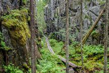 Suomalaisia retkikohteita