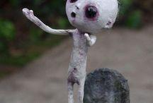 gothik bambole arte