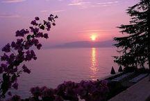 Tramonti sul lago di Garda - Sunset on lake Garda  - Sonnenuntergang am Gardasee - Couchers de soleil sur le lac de Garde / Tramonti sul lago di Garda - Sunset on lake Garda  - Sonnenuntergang am Gardasee - Couchers de soleil sur le lac de Garde