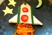 Fun Sandwiches for Kids / Great ideas for making healthy food fun for picky eaters.