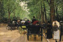 Painting scenes