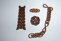 Knotwork in wood carving