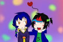 soni shinko / OC/myself in internet