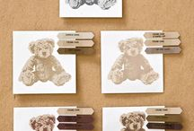Stampin' Up - Baby Bear 2016