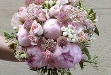 Bouquet mariage pastel