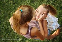 sisters photography / Celebrating sisters in photographs. Posing ideas for young children and women. / by Amy Bethune Photography