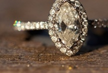 The RING And other Bridal Jewels / Wedding Jewelry and accessories! From Rings To Cuff Links!!! I love a vintage art deco style ring....secretly I want a rock. Doesn't have to be a diamond..I would be happy with a birth stone <3