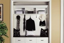 Closet Ideas / Closet ideas for old closets (maybe a few dream closets).