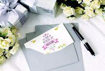 Wedding <3 / Tutto il necessario cartaceo per il tuo matrimonio, lo trovi qui: http://sprint24.com/partecipazioni-matrimonio/