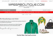 The Massaboutique.com Outlet / Our special showcase where you can find exclusive products of last S/S 2013 Collections on promotion!  Seize the occasion for an off-season luxury fashion shopping experience: don't miss out your favorite brands in sales!