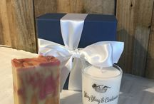 SOAK Yourself Gift Sets / A collection of matching soap and candle gift sets, designed to suit all moods.